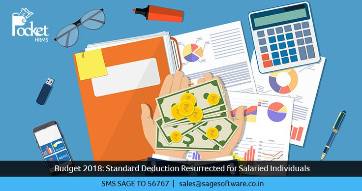 Budget 2018: Standard Deduction Resurrected for Salaried Individuals