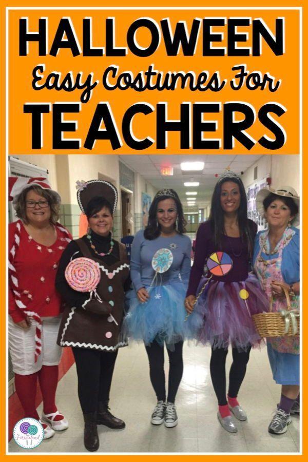 Halloween Costumes For Teachers 2020 Easy Halloween Costumes For Teachers in 2020 | Teacher halloween