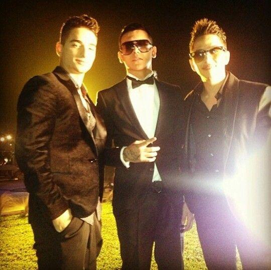 Maluma,  Kevin Roldan & Andy Rivera