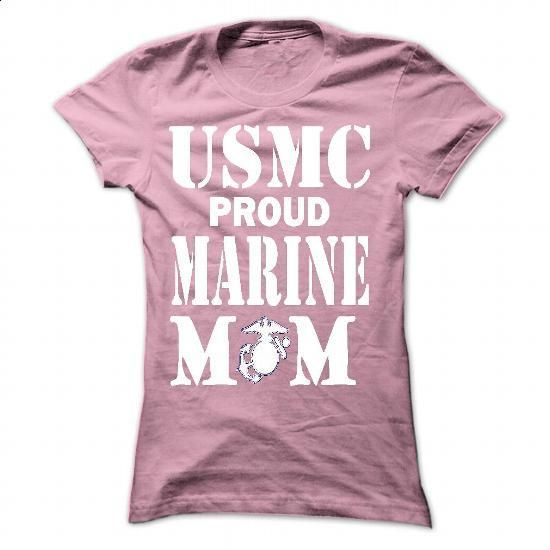 MARINE MOM - #bridesmaid gift #shirt prints. PURCHASE NOW => https://www.sunfrog.com/No-Category/MARINE-MOM-8995-LightPink-37231419-Ladies.html?60505