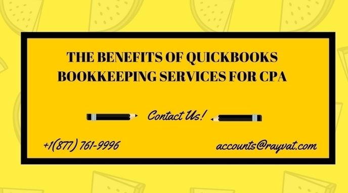 The Benefits of Quickbooks online Bookkeeping Services for