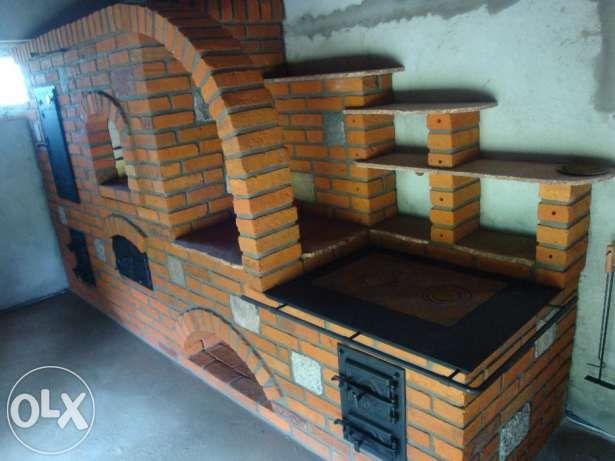 wędzarnia,piec chlebowy,grill cegła rozbiórkowa kamień   -> Kuchnia Kaflowa Schemat