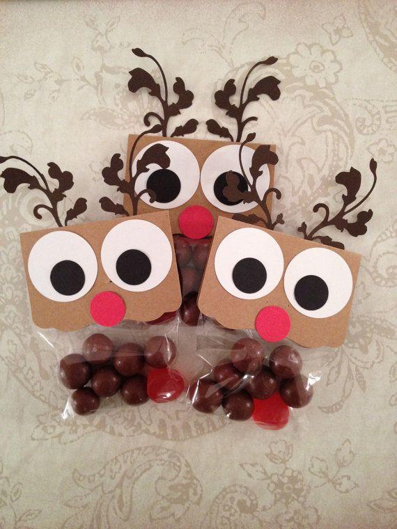 NEW Reindeer Noses Christmas Favors Christmas Candy por Kbettega