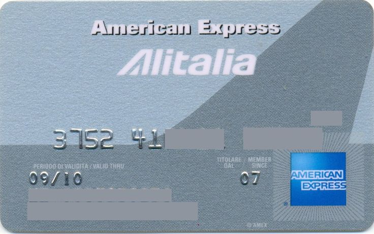 Alitalia American Express (American Express, Italy) Col:IT-AE-0005
