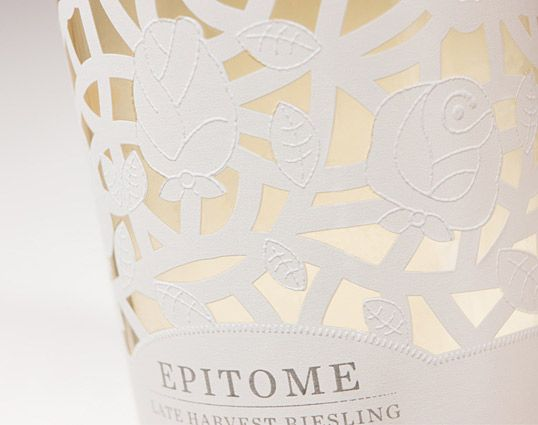 lovely lacey packaging - Epitome Wine