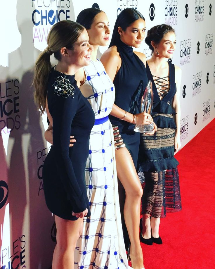 """""""Congrats to our girls!!! #PLL #PeoplesChoiceAwards"""""""