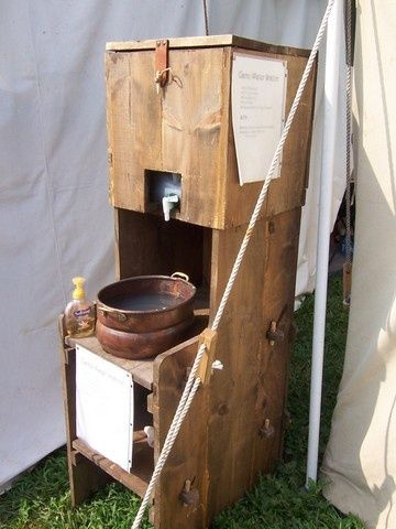 medieval wash stand - Google Search