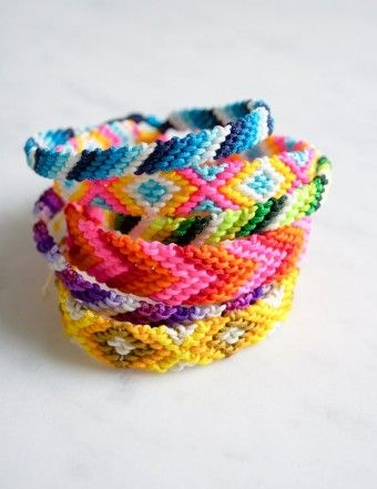 Classic Friendship Bracelets | The Purl Bee
