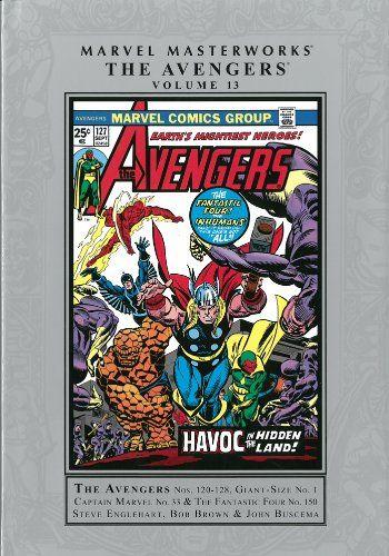 Marvel Masterworks: The Avengers - Volume 13 (Marvel Masterworks (Numbered)) @ niftywarehouse.com #NiftyWarehouse #Avengers #Movies #TheAvengers #Movie #ComicBooks #Marvel