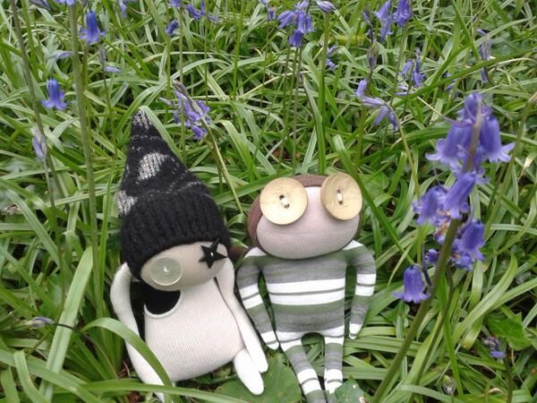 If you go down to the woods today, you're sure to find... Ruby Ruth Doll's!