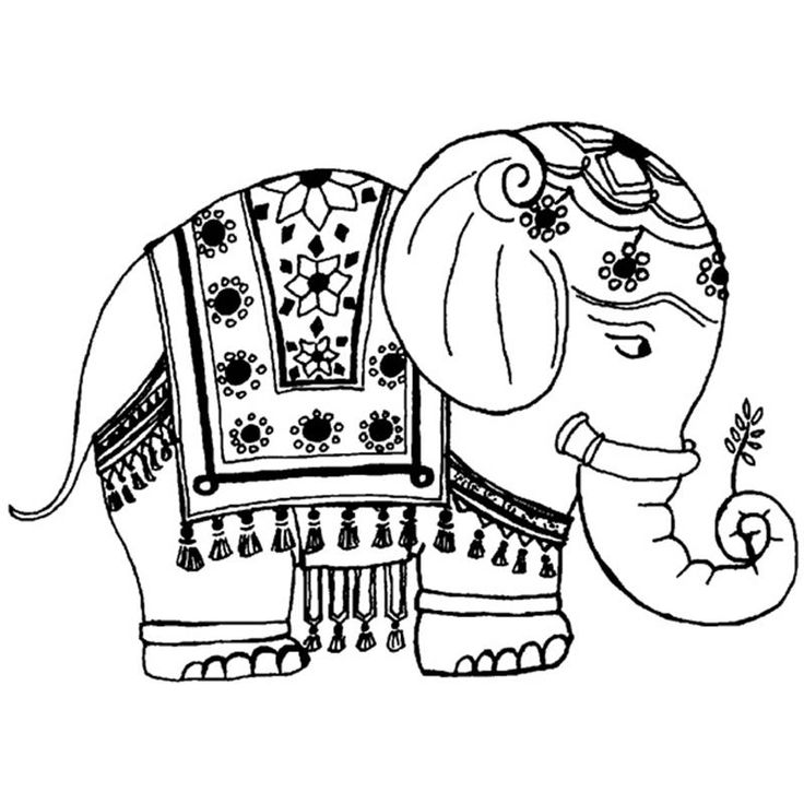 Buy Personal Impressions Smart Elephant Rubber Stamp From The Stamps Range At Hobbycraft