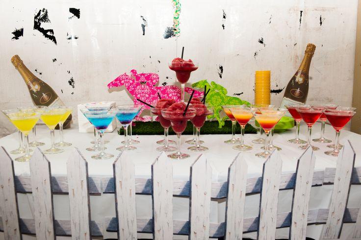 spring racing cocktails www.cocktailqueen.com.au