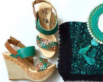 Zapatos de plataformas Karina 2016 mexicana por thecatrinastore