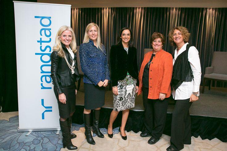 Panel #FemmesLeaders 2013:  Isabelle Hudon - Isabelle Bettez - Arielle Meloul-Wechsler - Danielle Lafond - Sylvie Bédard