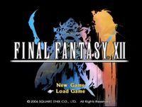 Resultado de imagem para final fantasy xii main menu