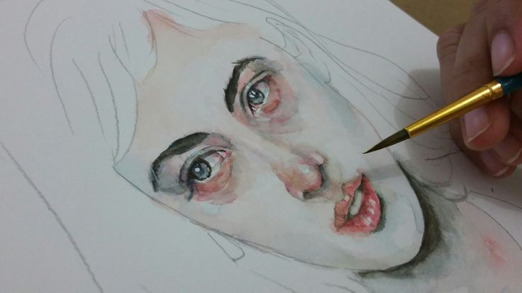 WIP watercolour illustration by me. Visit my instagram @staveze_ Thanks! . . . #watercolour