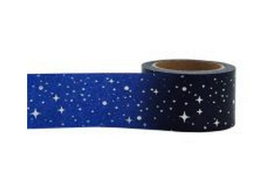 Star  Sky Washi Tape, Paper Tape, Planner Tape, Gift Wrap, Craft