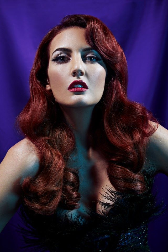 #dita #ditavonteese #jessicarabbit #glam #glamor #waves #shiny #sleek #beautiful #sexy #heroine #vixen #allure #allurecollection #hair #hairstyle #long #red #curls #smooth #iwantthathair #hairtrends2014