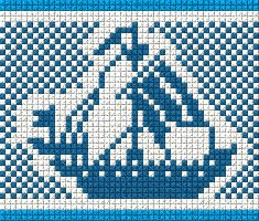 Схемы бордюров и орнаментов для вышивки (ткачество)   biser.info - всё о бисере и бисерном творчестве