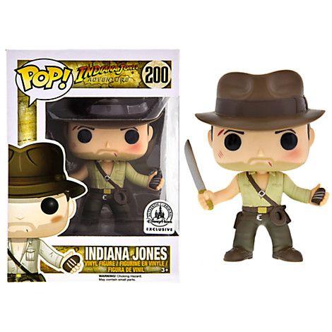 Indiana Jones POP! Vinyl Figure by Funko - Indiana Jones Adventure | Disney Store