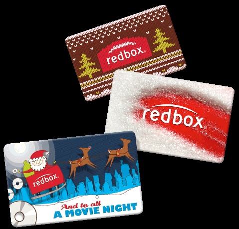 E-gifts Cards - Great for Stockings & movie night gift baskets!