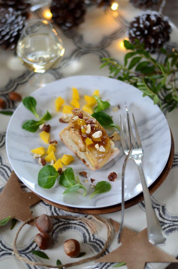 Escalope of foie gras pan-fried and mango chutney