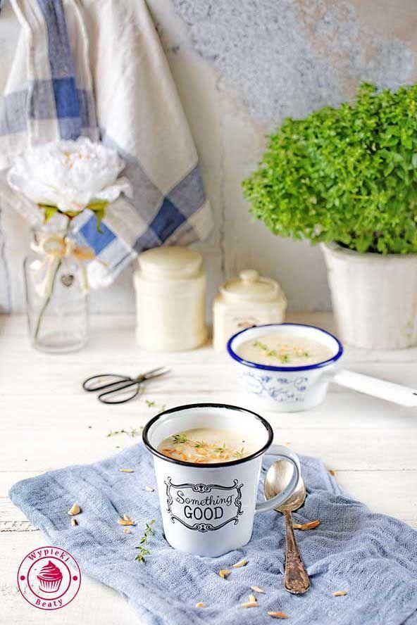 parsley cream soup - zupa krem z pietruszki