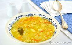 Простой, но очень вкусный суп. Ингредиенты: 100 г - 200 г курицы (или 1,5 л готового куриного бульона) 2 яйца 6-7 ст.л. муки 400 г картофеля 100 г лука 100 г моркови 2 шт. лавровых листа соль перец…