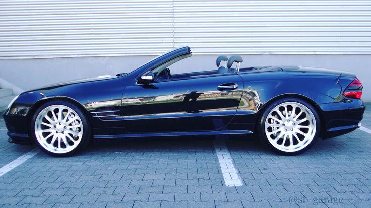 Black Mercedes Benz SL 55 AMG !!!