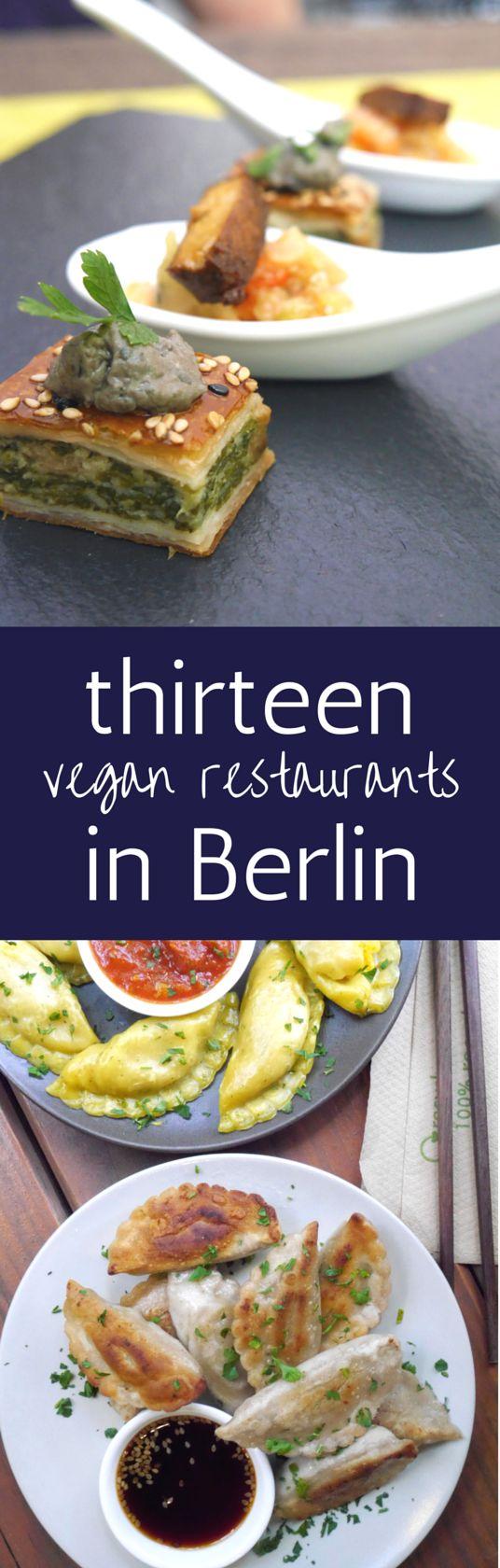 13 FANTASTISCH Vegan Restaurants in Berlin Not To Miss