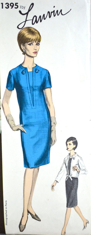 1960s Vintage Vogue Paris Original Pattern от TabbysVintageShop