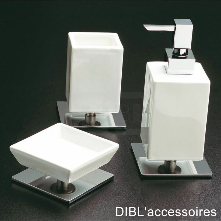dibl 39 accessoires eine kleine auswahl unserer eckigen badezimmer accessoires seifenhalter. Black Bedroom Furniture Sets. Home Design Ideas