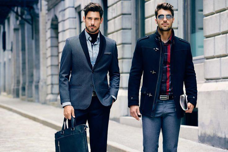 Découvrez les musts de la saison avec notre nouvelle boutique en ligne de vêtements pour hommes.