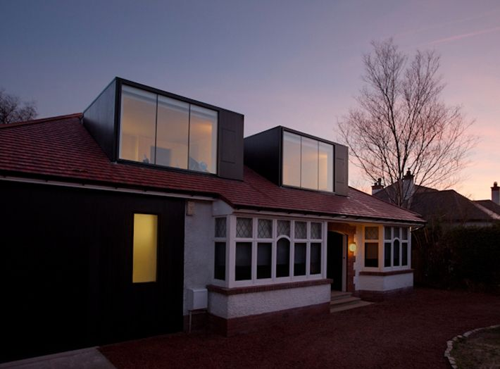 An interesting and politely courageous approach to a bungalow conversion by NORD.