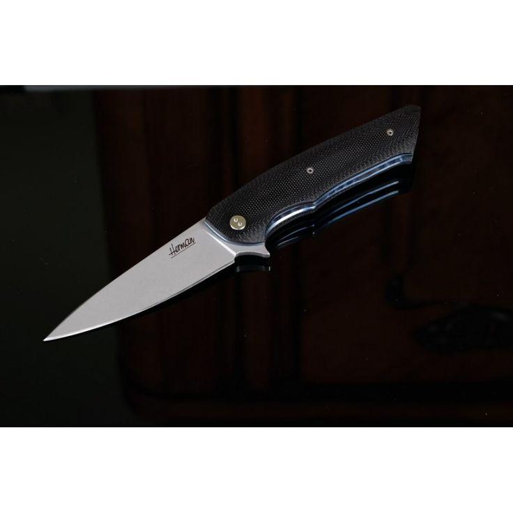 Slender by Herman Knives http://warshop.pl/en/herman-knives/103-slender.html #custom knives #handmade #folder #edc