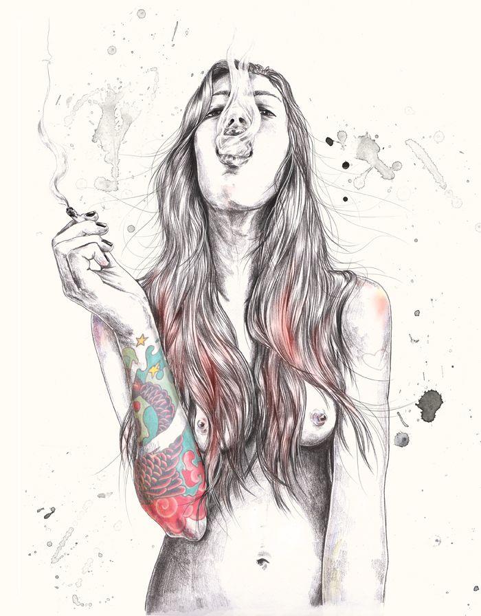 Esra Roise ou l'illustration féminine -Beware Magazine