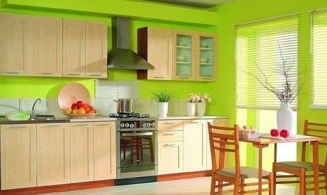 Подбор цвета для кухонных стен