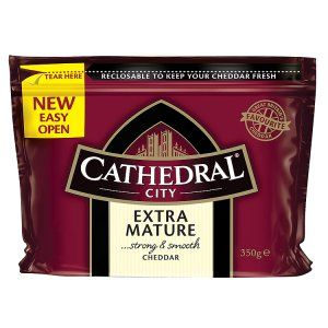 Cathedral City Extra Mature Strong & Smooth Cheddar 350g | Mature & Extra Mature Cheese | Cheese | Chilled | Iceland