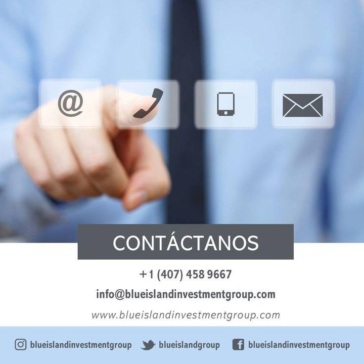 Contáctanos ofrecemos asesoría gratuita en el área inmobiliaria.  1 (407) 458 9667 Info@blueislandinvestmentgroup.com  #BlueIsland #BlueIslandgroup #RealEstate #Construction #RealEstateInvesting #Investment #Business #BienesRaices #Negocios #Tips #InvierteenUSA #USA #dolares #EEUU #Invierte #Ganancias #Ganancia #Orlando #OrlandoFl #Florida #Compra #Venta #Inmuebles