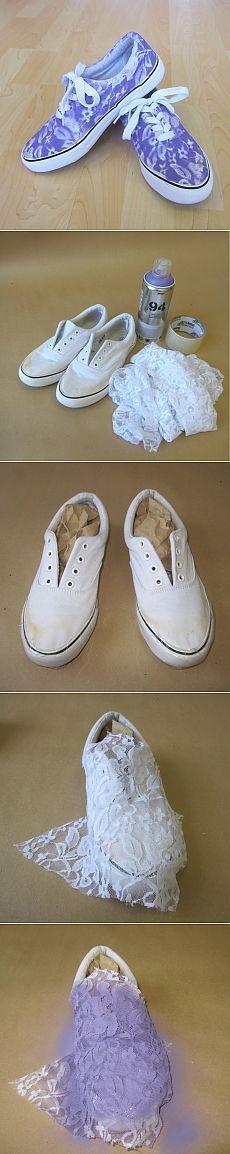 Dantel deseni (DIY) / Ayakkabı / İKİNCİ STREET ile Sneakers