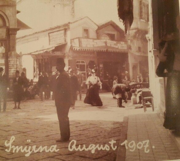 İzmir August 1907