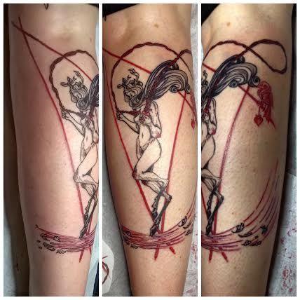 Chiara Bautista Tattoo by Rita La Zia
