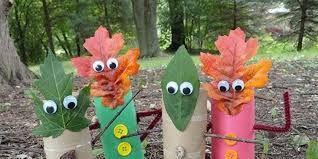 Resultado de imagen de manualidades infantiles otoño