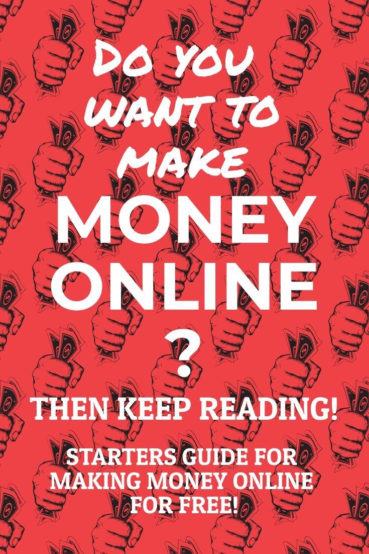 Online Money Making Bible Med Billeder
