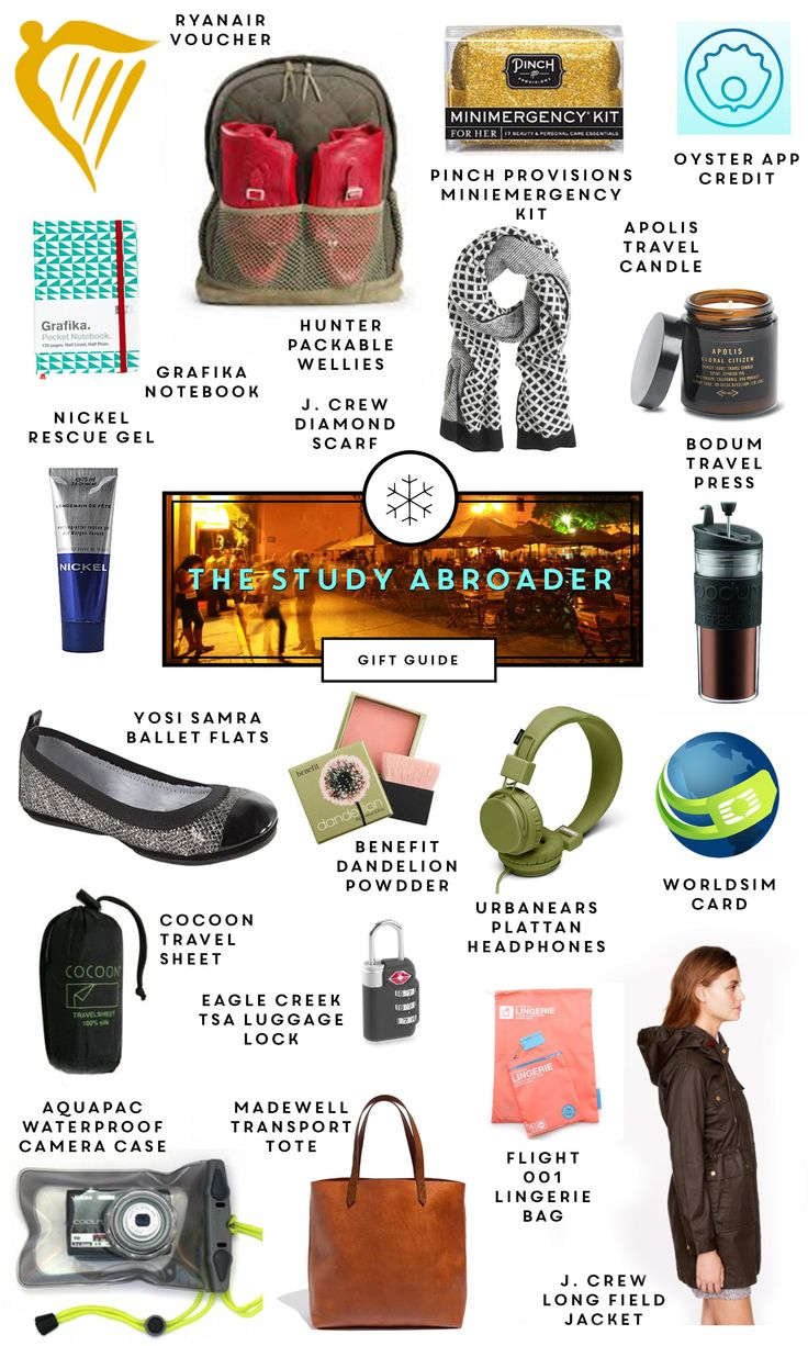 Holiday Gift Guide: The Study Abroader - Glipho