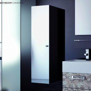 Tall Bathroom Cabinet Mirror Door