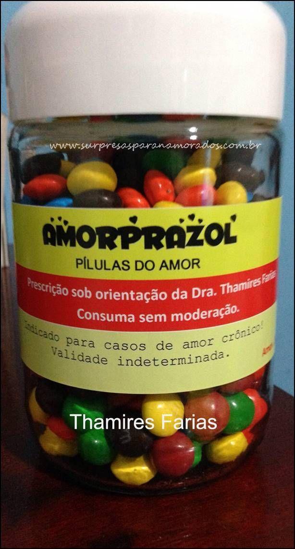 pílulas do amor