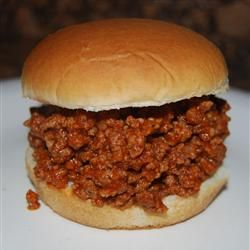Sloppy Joe - this is a great tried and true recipe.