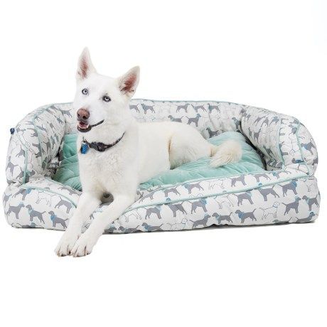 Humane Society Dogs In Hats Bolster Dog Bed 2xl 29x43 Bolster Dog Bed Humane Society Dogs Humane Society