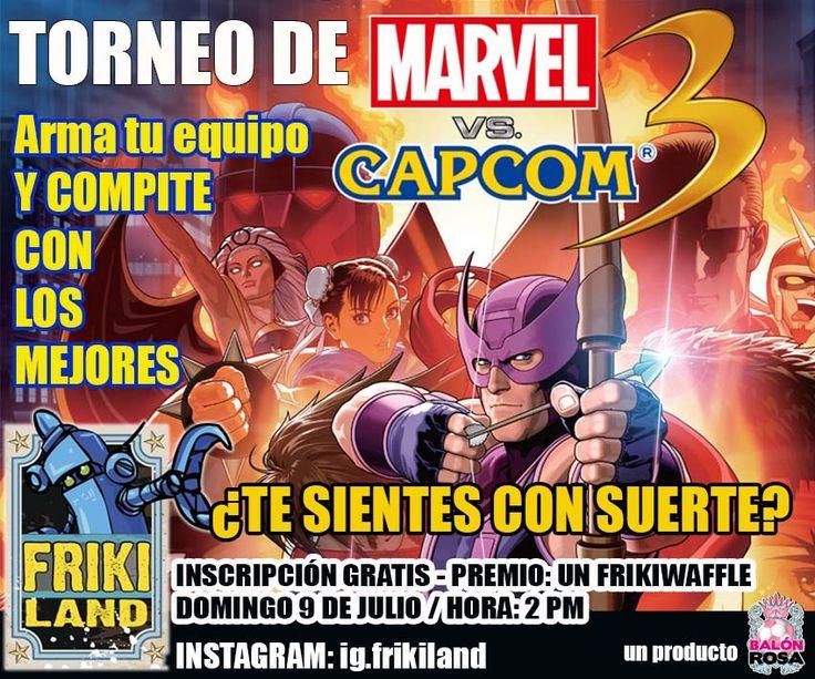 Torneo relámpago de Ultimate Marvel Vs. Capcom 3 en Frikiland